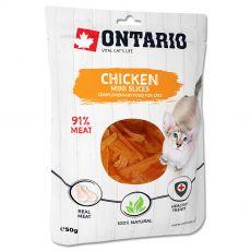 Ontario Macska mini csirkeszeletek 50 g