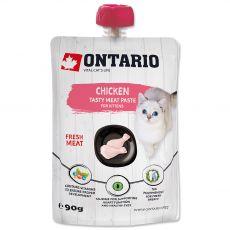 Ontario Kiscica csirke és friss húspástétom 90 g