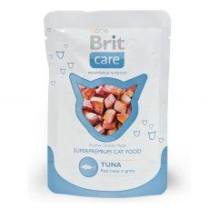 Brit Care Zacskós macskaeledel, tonhal 80 g