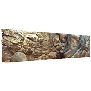 3D GYÖKÉR háttér - akváriumban 200 x 50 cm