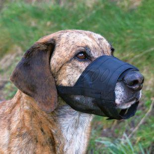 Szájkosár kutyusoknak - szellőztető hálóval, 2-es méret