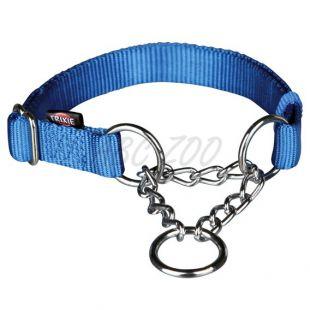 Kutya félfojtó, kék színben - M - L, 35 - 55 cm