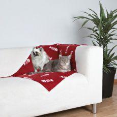 Pléd kutyák és macskák részére - fishbone