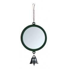 Csengős tükör madárjáték 7 cm