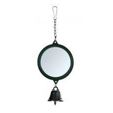 Madárjáték tükör csengővel 5,5 cm