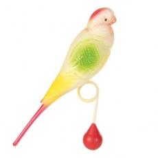 Játék madaraknak - hullámos papagáj, golyócska, 15 cm
