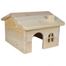 Rágcsáló ház ferde tetővel - kis méretű