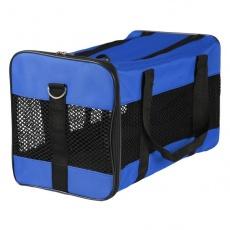 Hordozótáska kutyának és macskának - kék, 46 x 28 x 26 cm