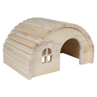 Rágcsáló ház boltíves tetővel - kis méretű
