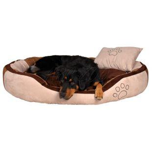 Kutya fekhely párnával - velúr, 60 x 50 cm