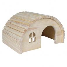 Rágcsáló házikó boltíves tetővel - közepes méretű