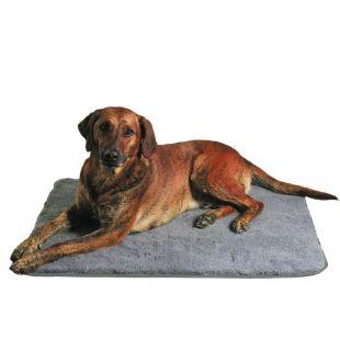 Fekhely kutyusok számára, szürke - 75 × 50 cm