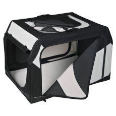 Kutyahordozó táska, fémkerettel - 91 × 58 × 61 cm