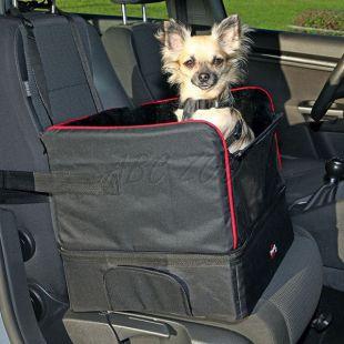 Kutya autóülés - biztonságos, 45 x 38 x 37 cm