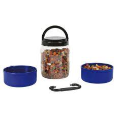 Hordozható doboz kutyaeledelnek 750 ml