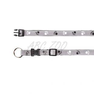 Fényvisszaverő kutyanyakörv, S - M, 30 - 45 cm