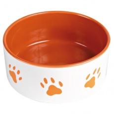 Narancssárga kerámia edény - 1,4 l