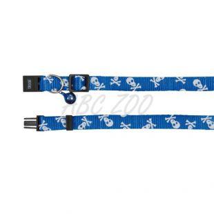 Nyakörv macskáknak, kék - koponya - 15 - 20 cm