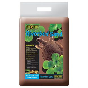 Terráriumi homok - barna 4,5 kg