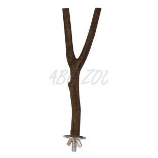 Natural living ülőke madárnak - fa, 20 cm