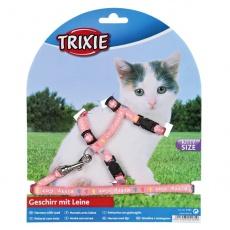 Kitty Cat hám pórázzal, rózsaszín