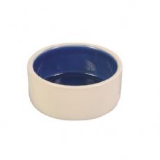 Kerámia kutyaedény, bézs színű- 350 ml