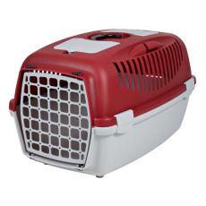 Kutyaszállító box 12 kg-ig, piros