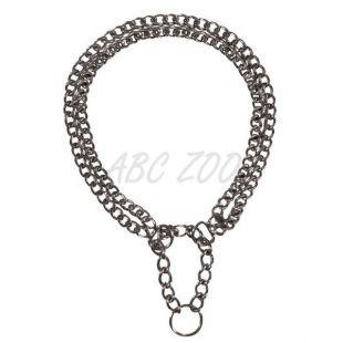 Félfojtó kutyusoknak - kétsoros lánc, 65 cm / 2,5 mm