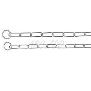 Nagy láncszemű nyakörv kutyáknak - 68 cm / 4 mm