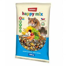 Darwin's Happy Mix eledel kistestű rágcsálók részére 500 g