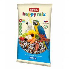 Darwin's Happy Mix eledel nagytestű papagájok részére 1 kg