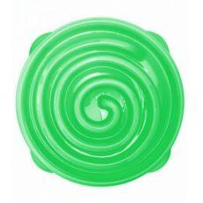 Terra Natura Slow feeder Bowl zöld spirál