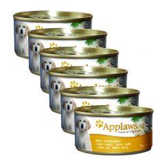 Applaws Dog Puppy konzerv csirke 6 x 95 g