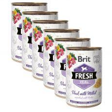 Brit Fresh Veal with Millet konzerv 6 x 400 g