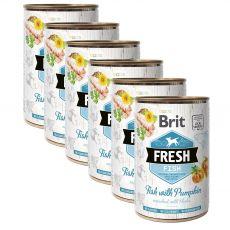 Brit Fresh Fish with Pumpkin konzerv 6 x 400 g