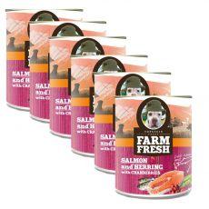Farm Fresh - Salmon with Cranberries 6 x 750 g