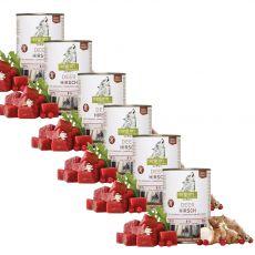 ISEGRIM Adult Forest: Szarvas csicsókával, vörös áfonyával és gyógynövényekkel 6 x 400 g