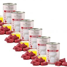 NUEVO Dog Sensitive BEEF konzerv 6 x 400 g
