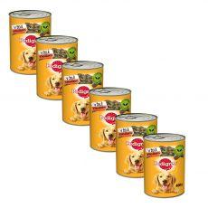 Pedigree konzerv marhahús zselében 6 x 400 g