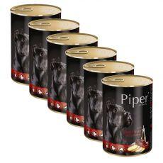 Piper Adult kutyakonzerv marhamájjal és burgonyával 6 x 400 g