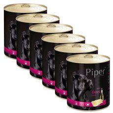 Piper Adult kutyakonzerv marha belsőségekkel 6 x 800 g