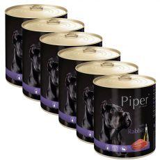 Piper Adult konzerv nyúlhússal 6 x 800 g