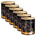 Piper Adult kutyakonzerv fürjjel 6 x 800 g