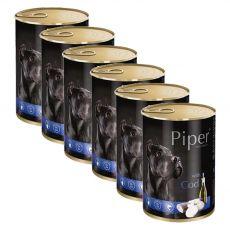 Piper Adult konzerv tőkehallal 6 x 400 g