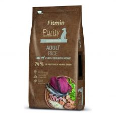 Fitmin Purity Adult Rice Fish & Venison 12 kg