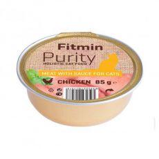 Fitmin Cat Purity csirke tálcás eledel 85 g