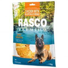 Rasco Premium Száraz Snack Csirke Bölénnyel Karika 110 g
