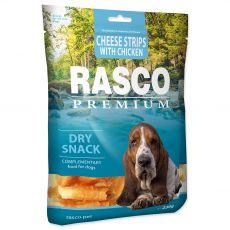 Rasco Premium Száraz Snack Sajtcsíkok Csirkével 230 g