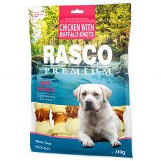 Rasco Premium Száraz Snack Csirke Bölénnyel Csomók 230 g