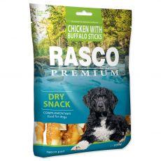 Rasco Premium Száraz Snack, Csirke Bölénnyel rudacska 230 g